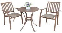 Island Breeze 3 PC Slatted Dining Bistro Group Product Image