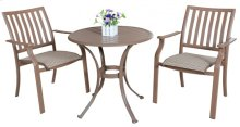Island Breeze 3 PC Slatted Dining Bistro Group