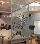 Hanging Room Divider, Honey Product Image