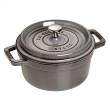 Staub Cast Iron 2.75-qt round Cocotte, Graphite Grey
