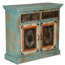 Painted 2 Drawer/2 Door Sideboard