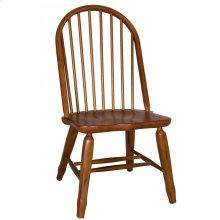 Bow Back Side Chair - Oak