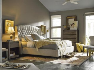 Halston King Bed