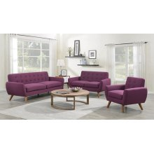 Daphne Purple Sofa, Love, Chair, SWU6958