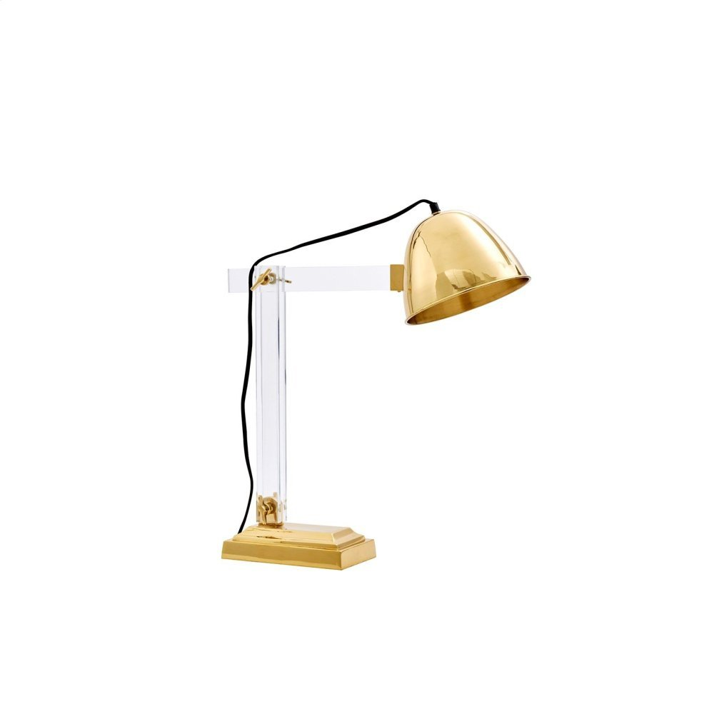 Anglia Table Lamp, Brass