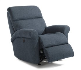 Davis Fabric Power Rocking Recliner