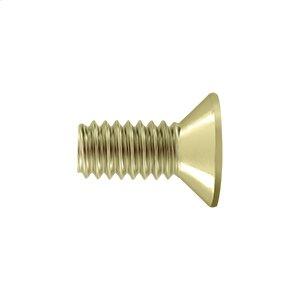 """Machine Screw, SB, #12 x 1/2"""" - Polished Brass"""