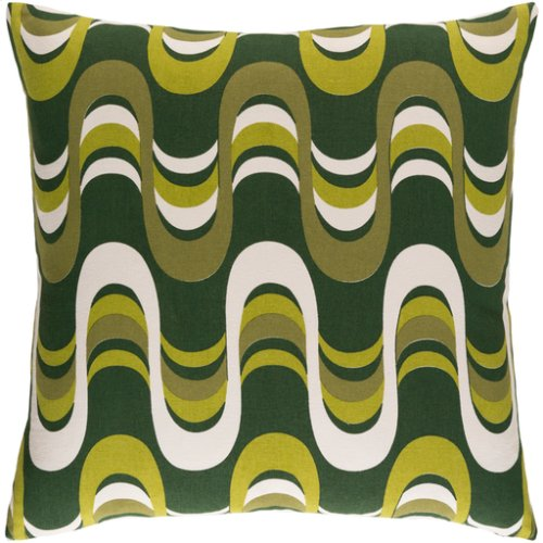 "Trudy TRUD-7141 18"" x 18"" Pillow Shell with Polyester Insert"