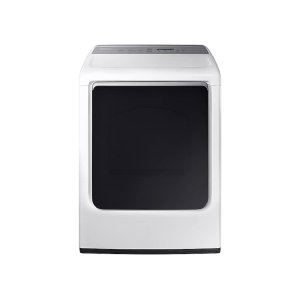 Samsung 7.4 Cu. Ft. Gas Dryer With Integrated Touch Controls In White