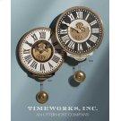 Vincenzo Bartolini Cream Wall Clock Product Image