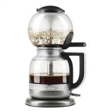 Siphon Coffee Brewer - Medallion Silver