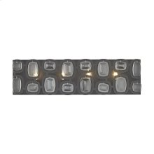Monserrat 4-Light Vanity Sconce in Oil Rubbed Bronze with Clear Glass