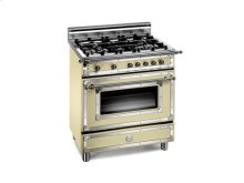 Matt-cream 30 Four-Burner Gas Range