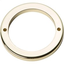 Tableau Round Base 2 1/2 Inch - French Gold