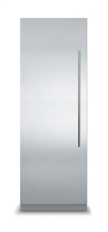 24 Virtuoso Fully Integrated All Refrigerator with 6 Series Panel, Left Hinge/Right Handle