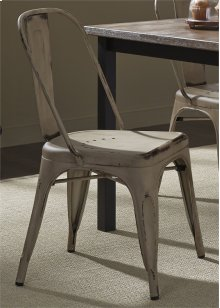 Bow Back Side Chair - Vintage White