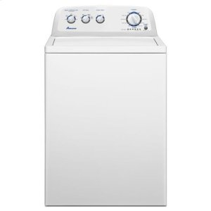 AMANA3.8 cu. ft. High-Efficiency Washer with Stainless Steel Wash Basket - white