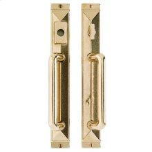 """Mack Entry Sliding Door Set - 1 3/4"""" x 13"""" Silicon Bronze Brushed"""