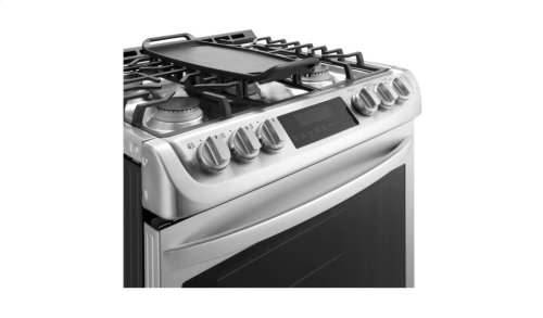 6.3 cu. ft. Gas Slide-in Range with ProBake Convection® and EasyClean®