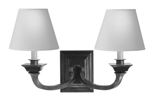 Visual Comfort MS2013SN-NP Michael S Smith Edgartown 2 Light 22 inch Sheffield Nickel Decorative Wall Light