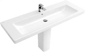 """Vanity washbasin 51"""" Angular - White Alpin CeramicPlus"""