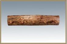 Glacier Country Log Coat Rack