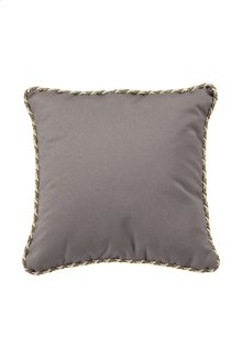 """24"""" Square Throw Pillow w/ Cord Welt"""