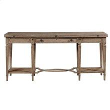 Wethersfield Estate-Flip-Top Table in Brimfield Oak