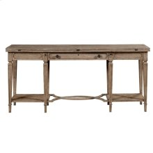 Wethersfield Estate-Flip-Top Table in Brimfield Oak