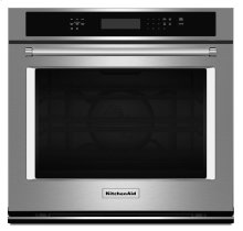 """27"""" Single Wall Oven with Even-Heat True Convection - Stainless Steel"""