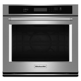 "27"" Single Wall Oven with Even-Heat True Convection - Stainless Steel"