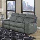 Parthenon Titanium Power Sofa Product Image