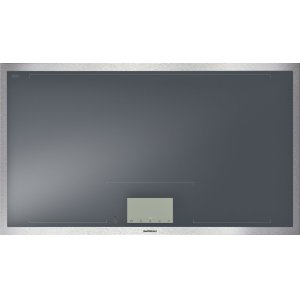 GaggenauVario 400 Series Full Surface Induction Cooktop Stainless Steel Frame Width 36""