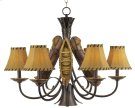 Old River Canoe Chandelier - Large Product Image
