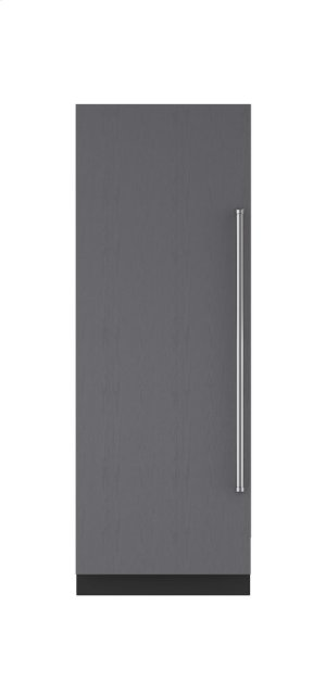 """30"""" Integrated Column Freezer with Ice Maker - Panel Ready"""