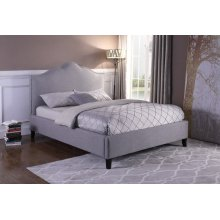 Jamie Falstaf (Grey) Queen Bed 5/0