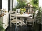 Round Pedestal Table - Linen Product Image
