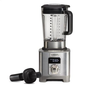 Wolf High-Performance Blender - Brushed Stainless Knob