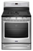 Maytag® 30-inch Wide Gas Range with Convection and Power Preheat - 5.8 cu. ft. - Stainless Steel Product Image