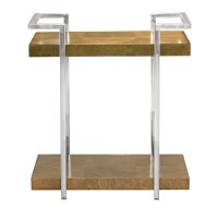 Soho Luxe End Table in Dark Caramel (368) Product Image