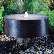Polished Millstone Fountain
