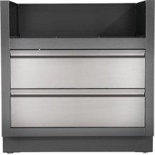 OASIS Under Grill Cabinet for Built-in Prestige PRO 500 or Prestige® 500 , Grey
