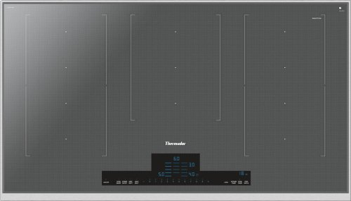 36-Inch Masterpiece® Liberty Induction Cooktop, Silver Mirror, Framed