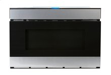 24 in. 1.2 cu. ft. 950W Sharp Stainless Steel Easy Wave Open Microwave Drawer Oven (SMD2480CS)