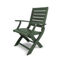 Green Signature Folding Chair