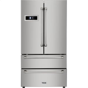 ThorStainless Steel French Door Refrigerator