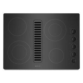 "Jenn-Air® Electric Radiant Downdraft, 30"" - Black"
