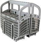 Long Flexible Silverware Basket Product Image