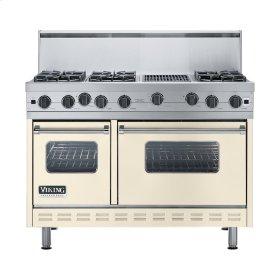 "Biscuit 48"" Open Burner Range - VGIC (48"" wide, six burners 12"" wide char-grill)"
