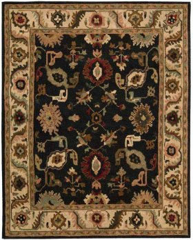 TAHOE TA08 BLK RECTANGLE RUG 5'6'' x 8'6''